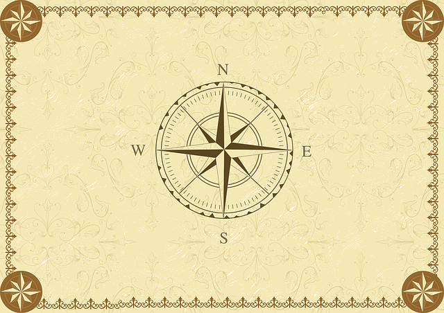 Compass Vintage South 183 Free Vector Graphic On Pixabay