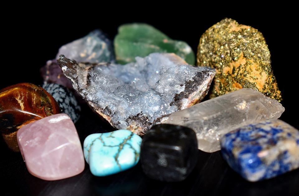 Gems, Gemstones, Semi-Precious, Stones, Amethyst