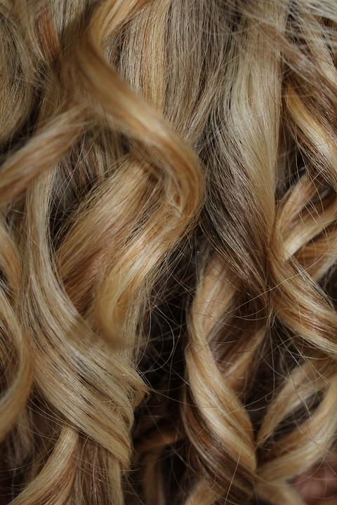 Locken Haare Blond Kostenloses Foto Auf Pixabay