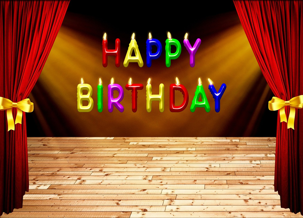 Поздравление с днем рождения для артиста в прозе