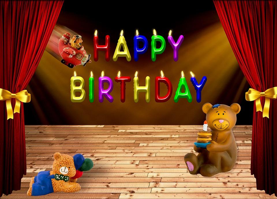 Geburtstag Happy Birthday B 228 Ren 183 Kostenloses Bild Auf Pixabay