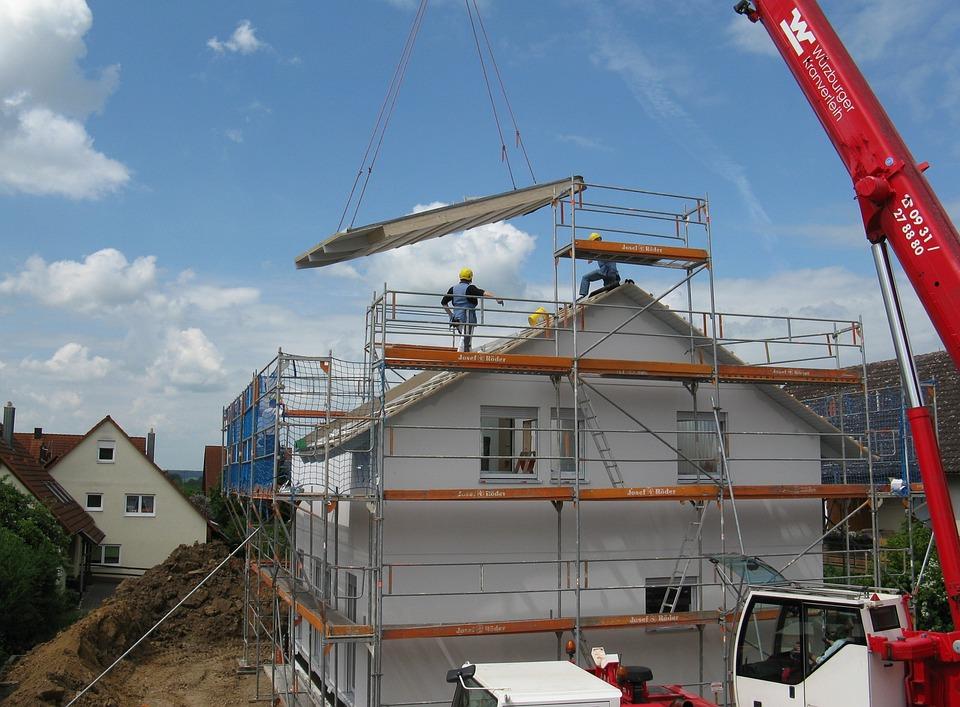La Construction De Logements, Nouveau Bâtiment, Site