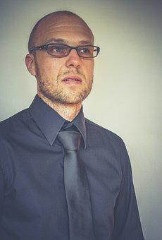 Entreprise, Cravate, Tête, Société