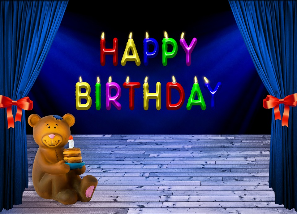 Free Photo: Birthday, Happy Birthday, Bear
