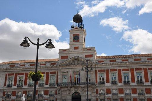 Vista Puerta del Sol Madrid