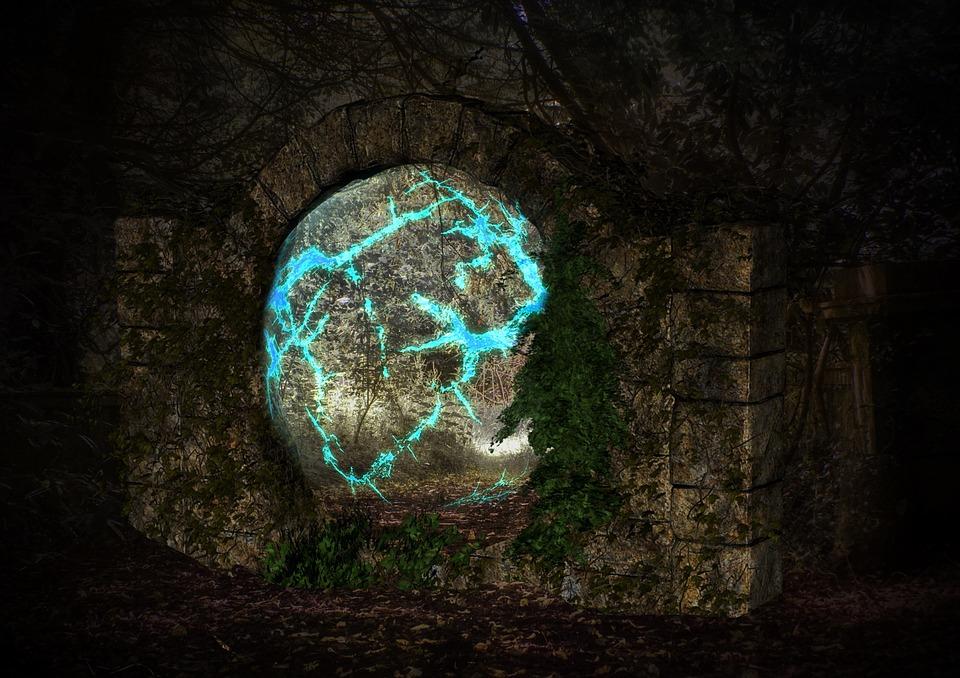 Stone Gate Fantasy Ruin 183 Free Image On Pixabay