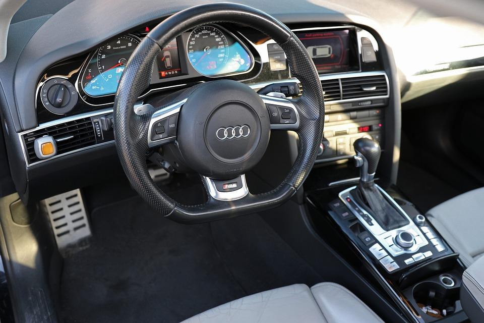 Free photo: Audi, Cockpit, Steering Wheel, Auto - Free Image on ... | {Auto cockpit audi 90}