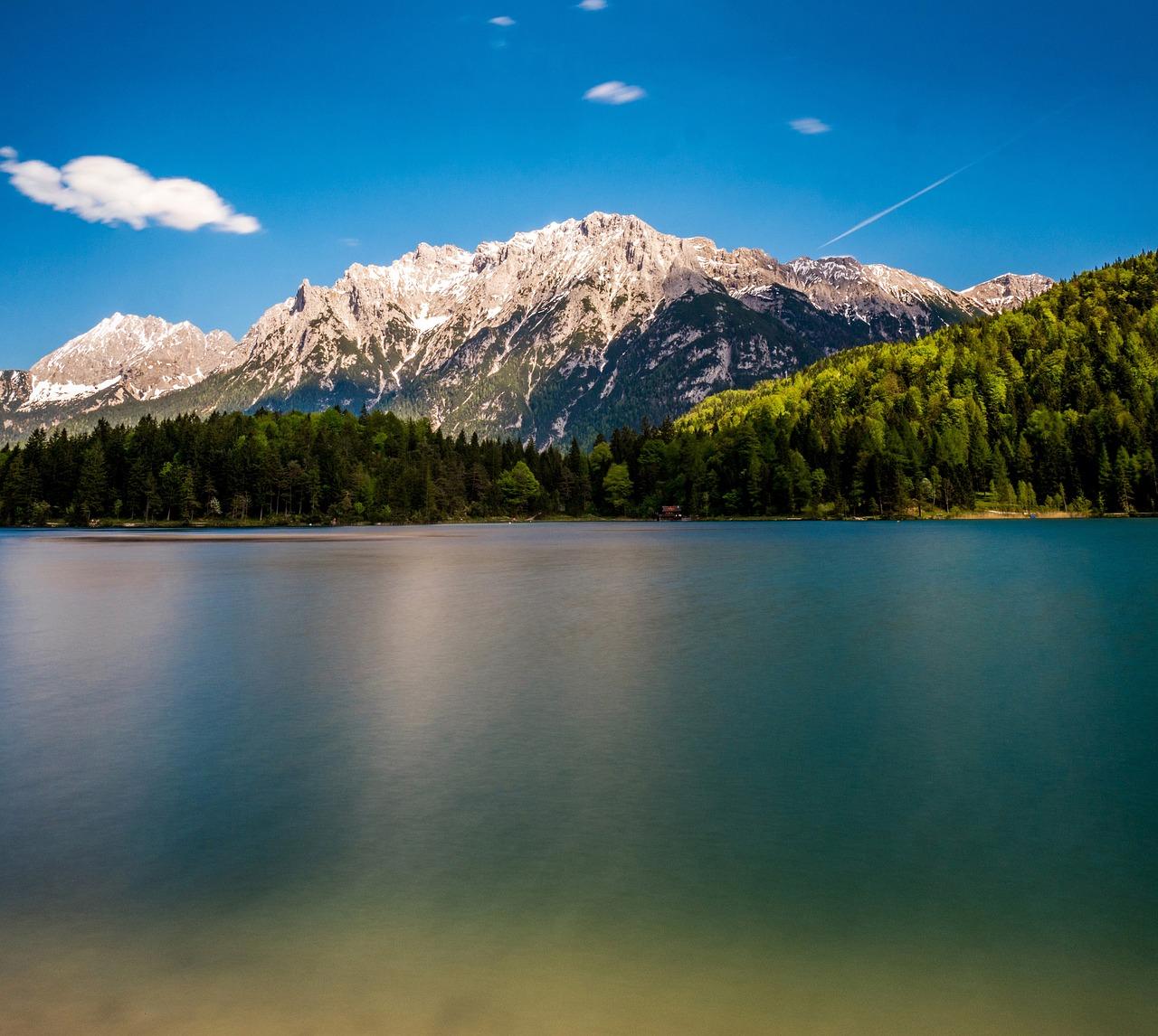 Озера в мюнхене фото