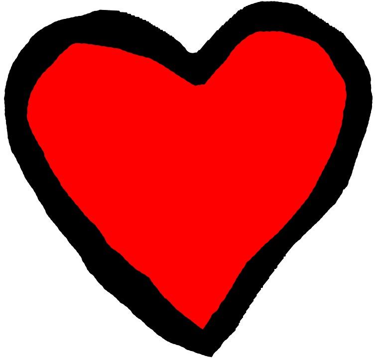 Cuore Rosso Nero Immagini Gratis Su Pixabay