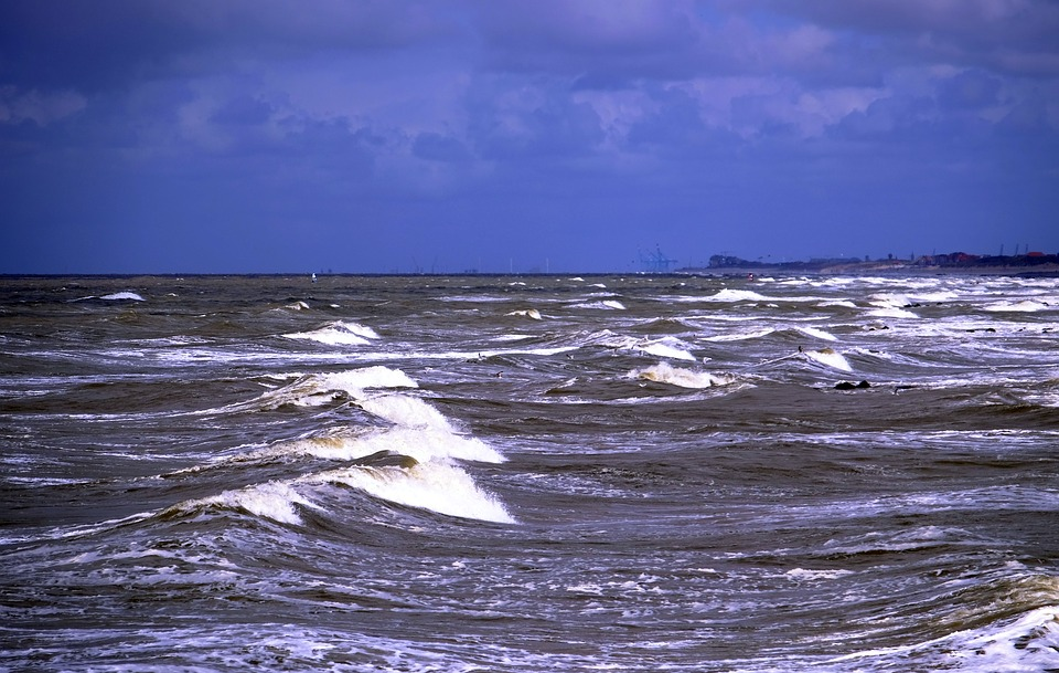 Mar Escória Onda Beira - Foto gratuita no Pixabay