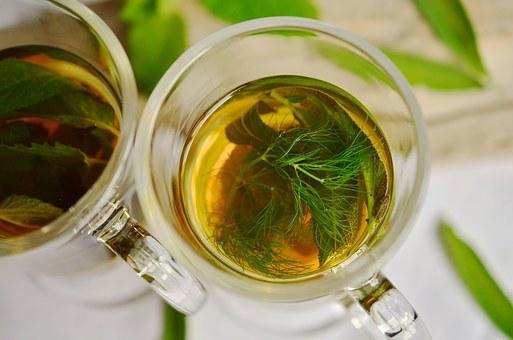 Herbal Tea, Herbs, Tee, Fennel, Mint