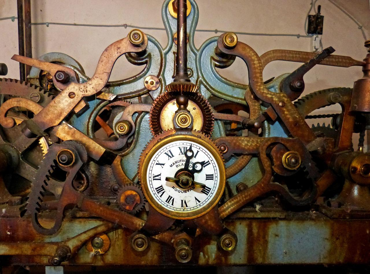 the history of clock History of timekeeping devices jump to  throughout history, clocks have had a variety of power sources, including gravity, springs, and electricity.