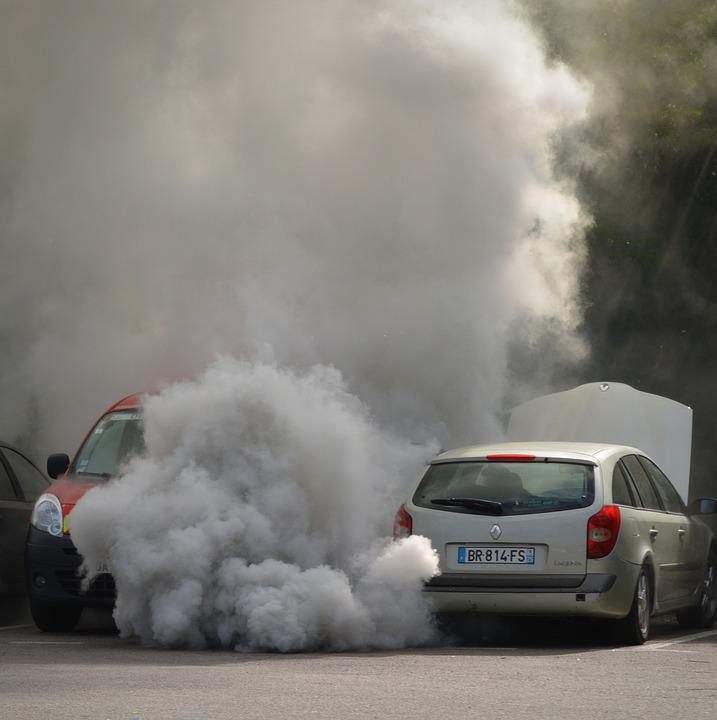 the problem of pollution from automobile emissions