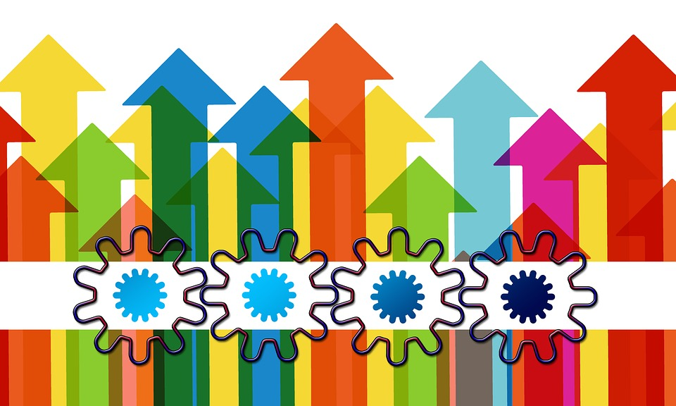 Arrows Growth Hacking Gears - Free image on Pixabay