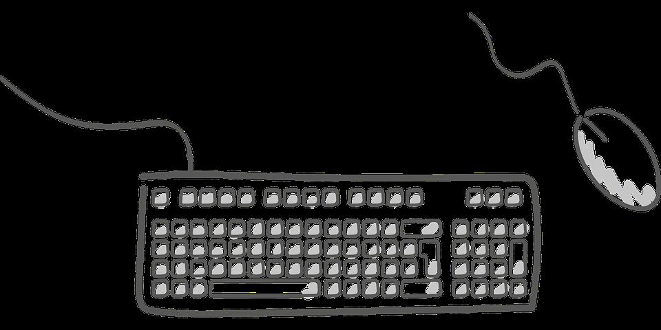 Мышь, Электроника, Клавиатура, Компьютер