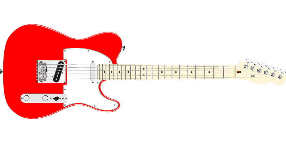 Music Instrument Guitar Free Vector Graphic On Pixabay