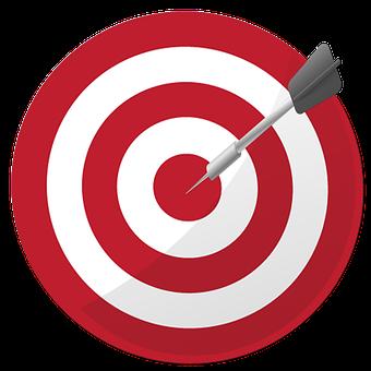 ターゲット, Dart, 目的, 成功, 目標, 精度, 達成, ダーツボード