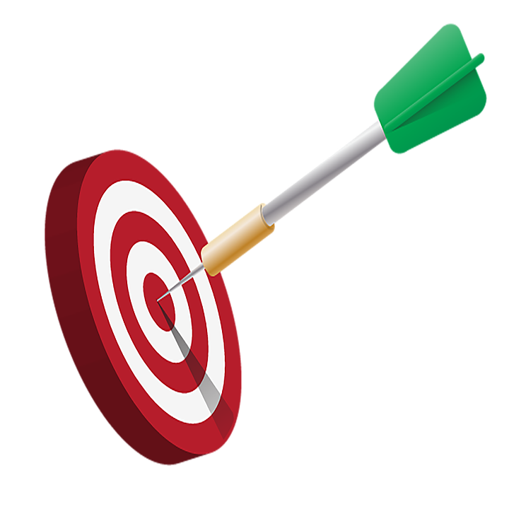 free illustration target dart aim objective free image on