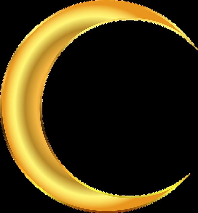 Ay Gece Yarim Pixabay Da Ucretsiz Vektor Grafik