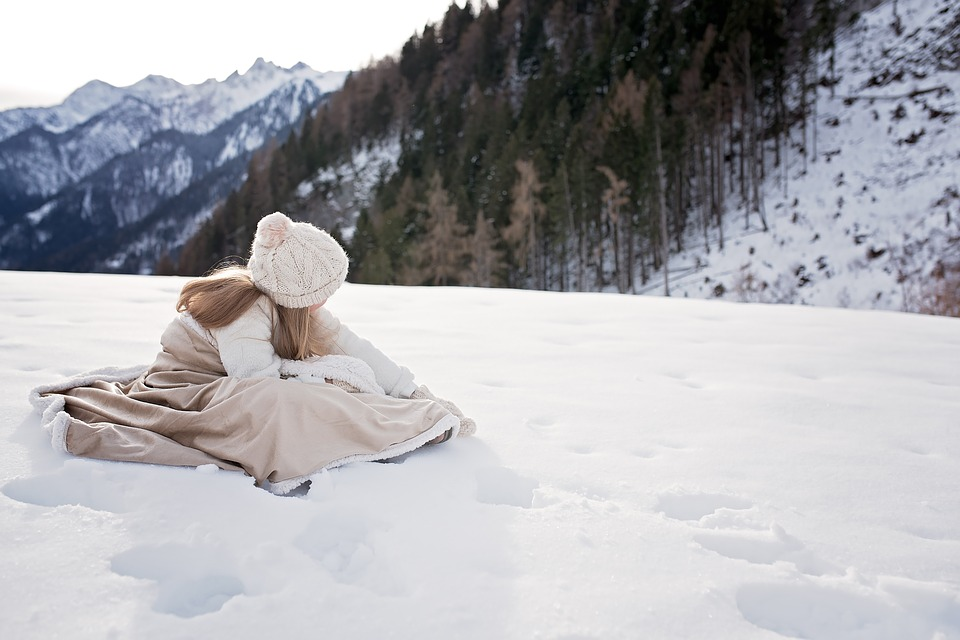 Winter, Person, Human, Girl, Out, Nature, Snow