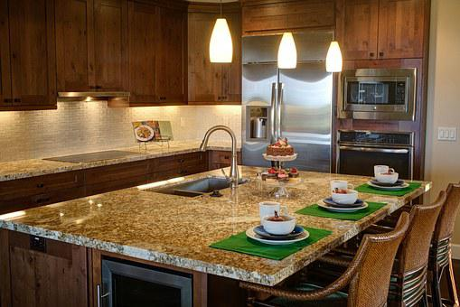 Kitchen, Home, Luxury Home Interior
