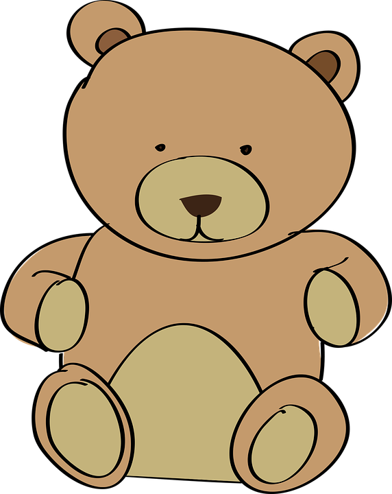 Free Vector Graphic Teddy Bear Toy Plush Cuddly Free