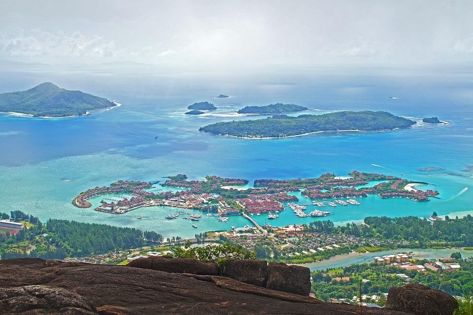 Seychelles, Islands, Landscape, Ocean, Sea