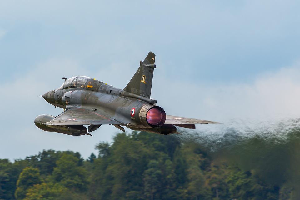 航空機, 航空ショー, Air14, 航空ショーのAir14, Payerne, スイス, ダッソー