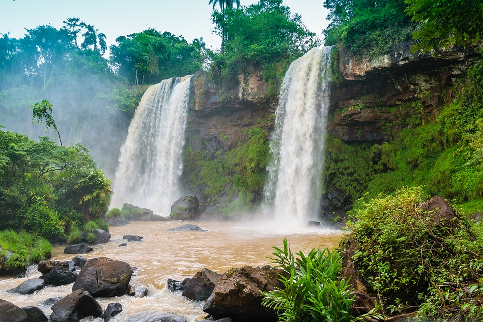 Waterfall Water Waterfalls · Free Photo On Pixabay