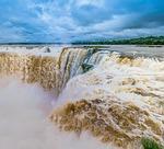 waterfall, water, waterfalls