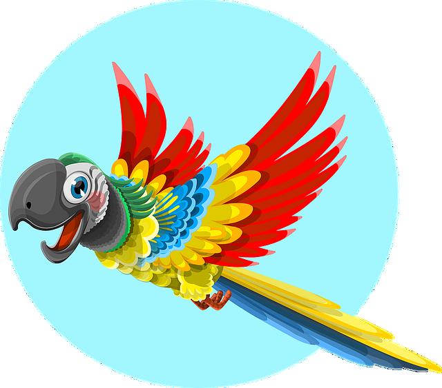 kostenlose vektorgrafik papagei tier vogel wild zoo