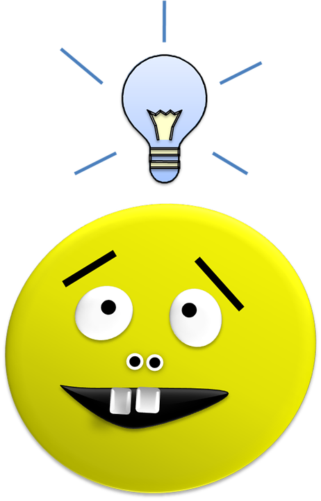 Bright Idea Smiley Globe Bulb Light Lightbulb