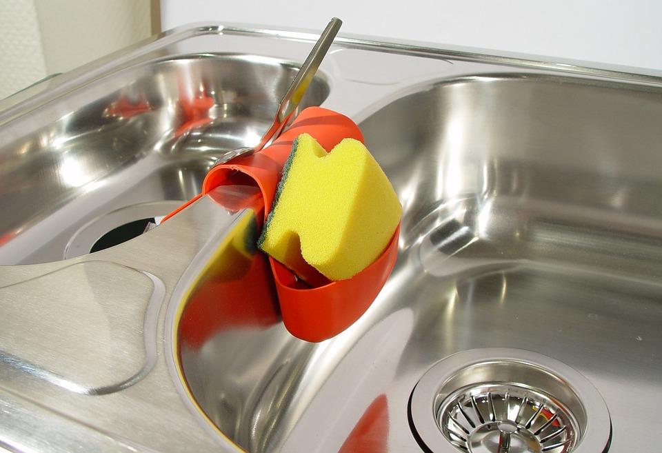 Sink scrubber