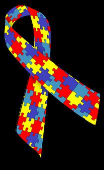 Autism Ribbon Awareness Disease Disorder S