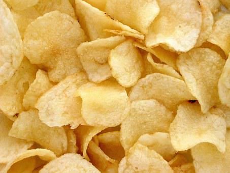 Chips Potatoes Potatoes Kitchen Aperitif F
