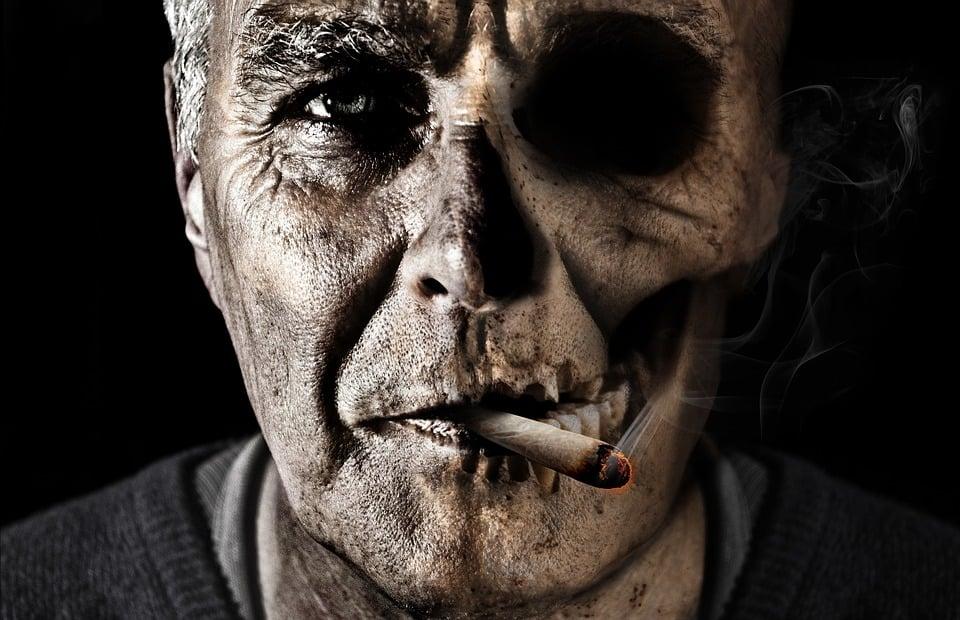 Człowiek, Palenia, Papieros, Dym, Niezdrowy, Cygaro