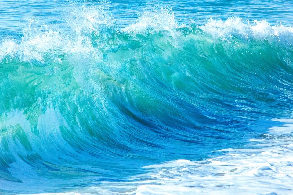 Ozean Wellen