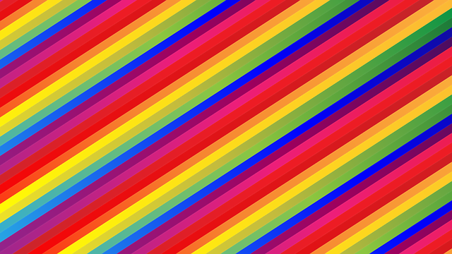 free vector graphic  rainbow  background  colorful