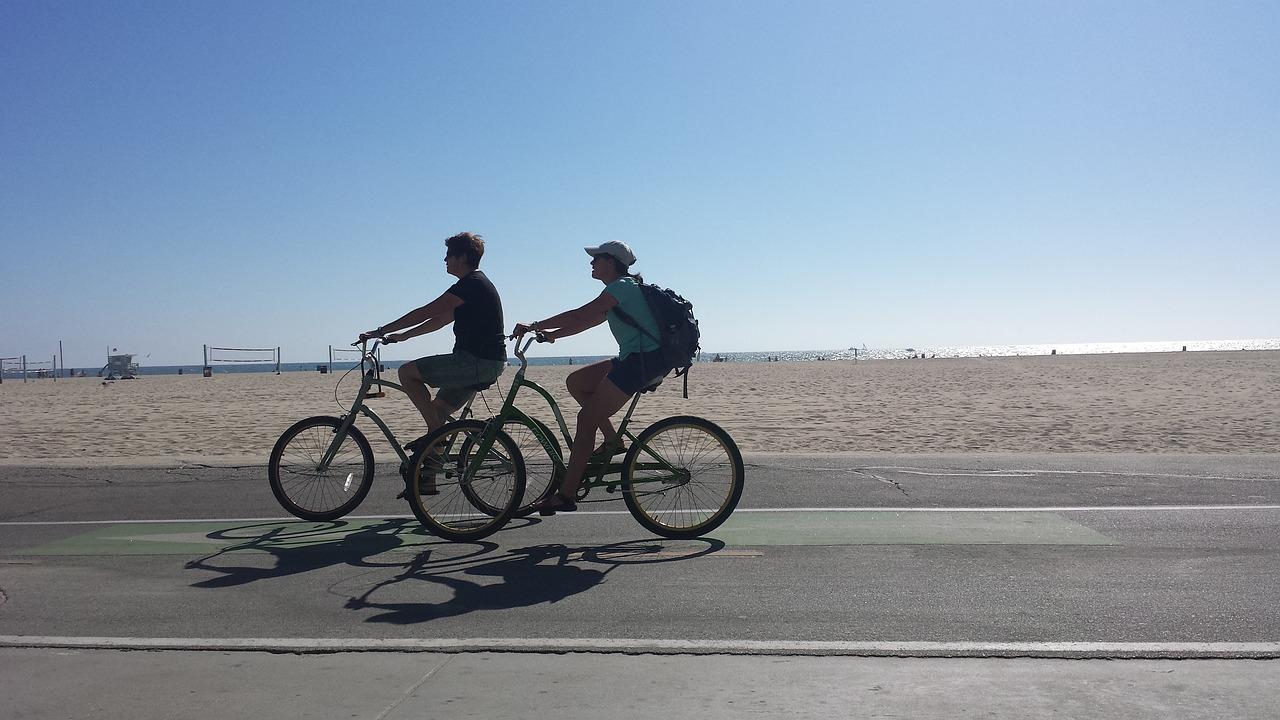 Bike Ride Beach - Free photo on Pixabay