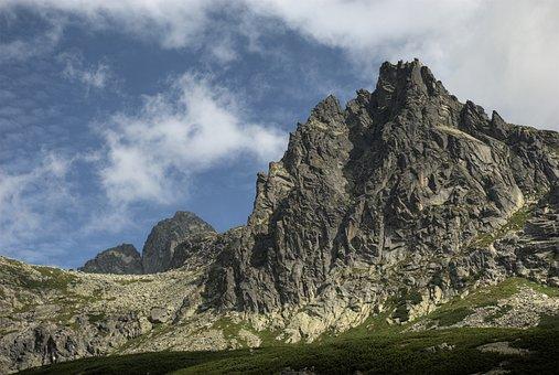 Słowacja, Tatry, Krajobraz, Góry Widok