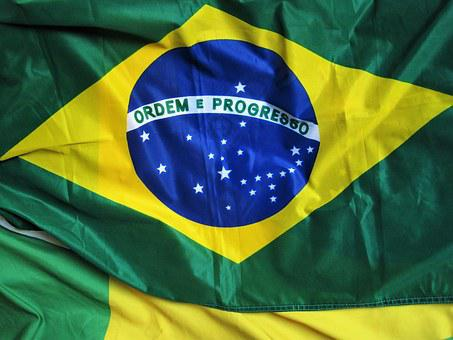 Brazilian Flag, Ordem E Progresso