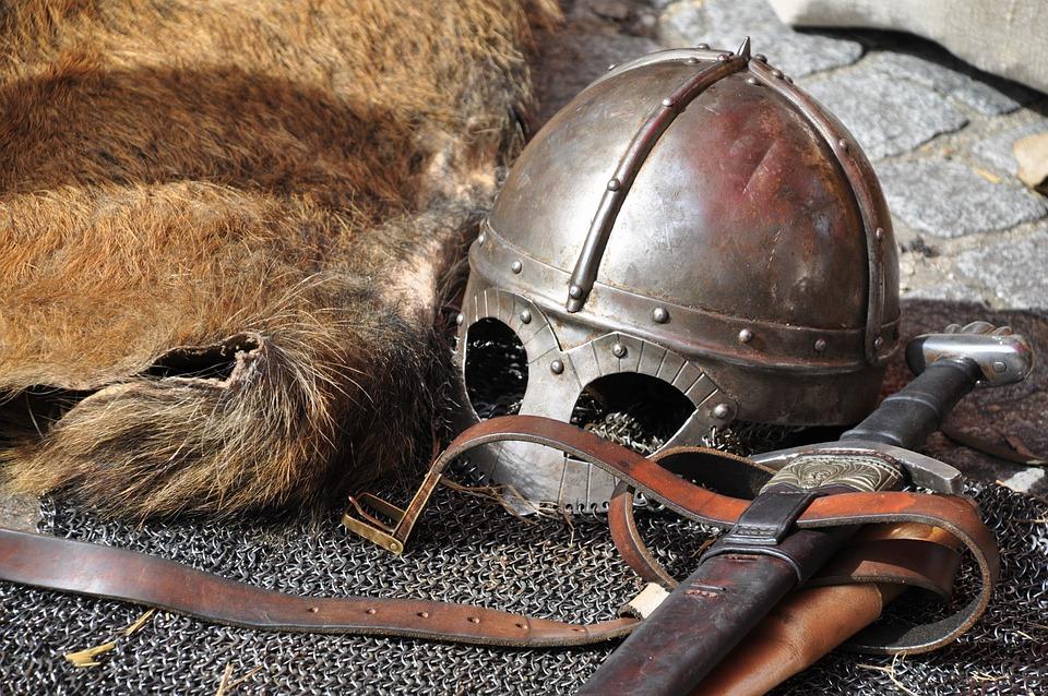 Knight, Armor, Helmet, Weapons, Sword, Knight Armor