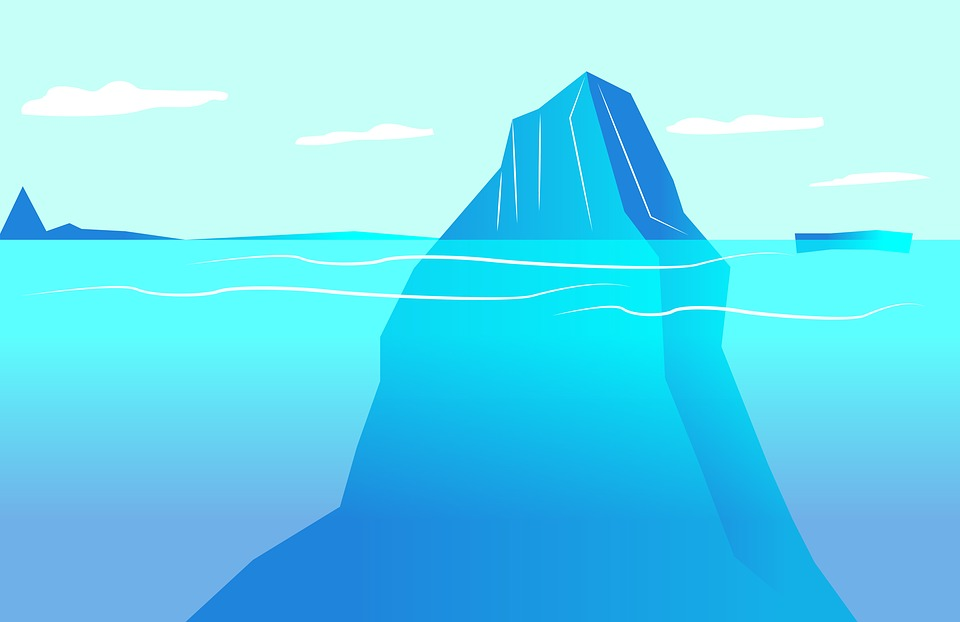 Free Illustration Iceberg Water Blue Ocean Ice Free