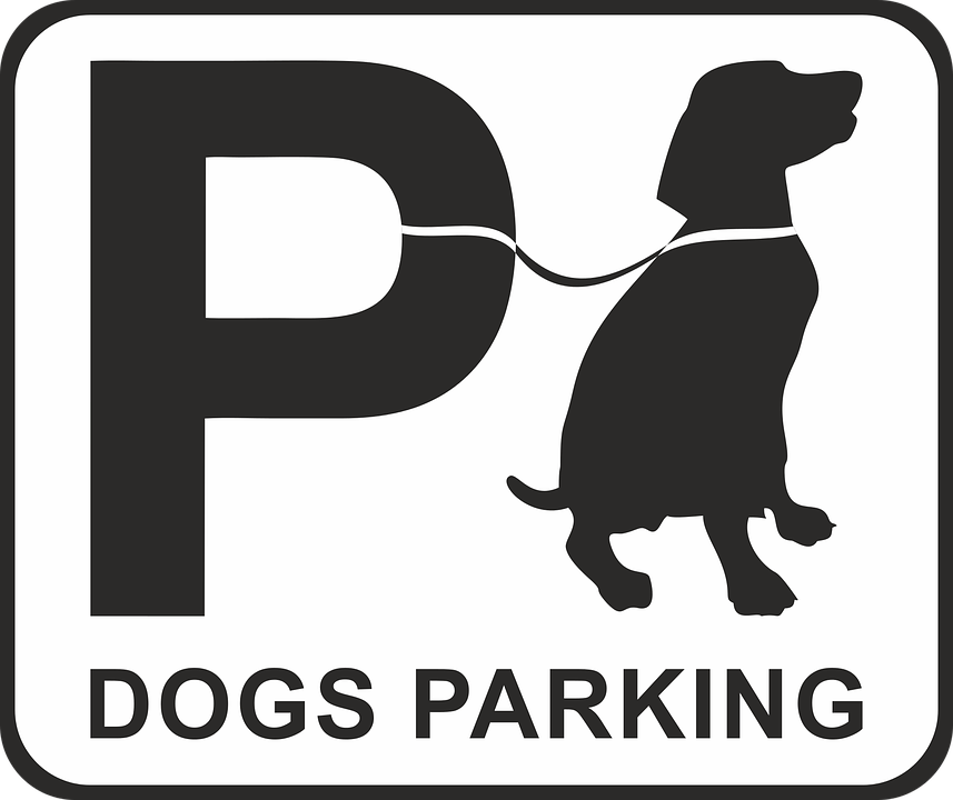 Free Vector Graphic Parking Dog Dog Park Place Free