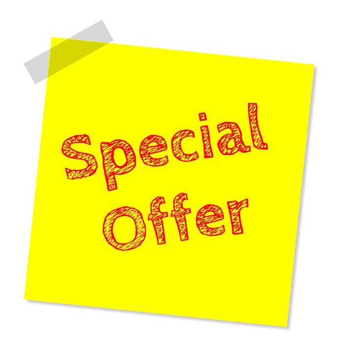 Special Offer, Discount, Offer, Special, Sale