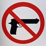 gun control, sign