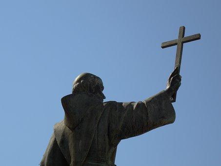 Evangelizer, Cross, Monk, Catholic