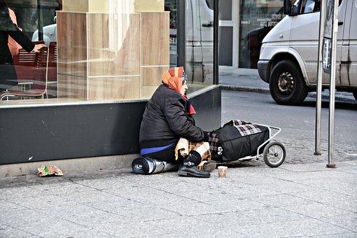 La Pobreza, Sin Hogar, Frankfurt