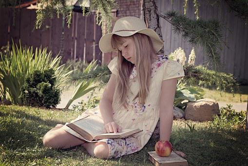 Child, Girl, Read, Learn, Book