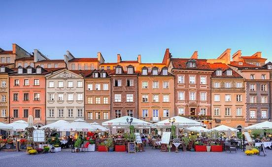 ワルシャワ, 旧市街, ヨーロッパ, 旅行, 観光, ポーランド, 市